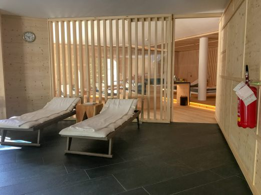 Rosa Alpina spa area