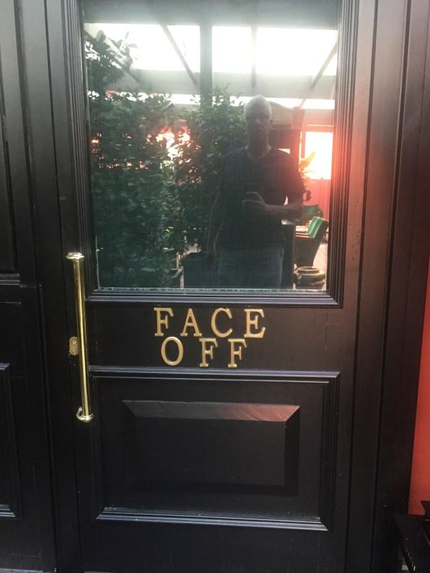 The Yard Milano Face Off Suite door
