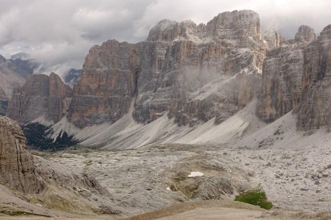 Lagazuoi mountains