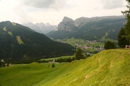 San Cassiano Trail 15 view