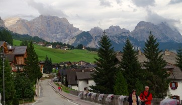 San Cassiano main street view