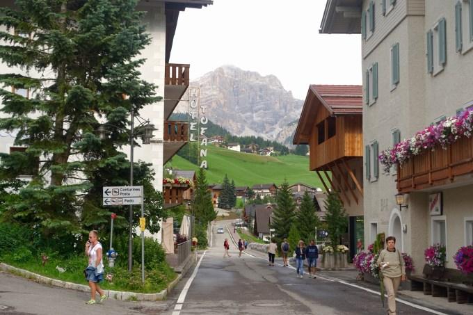 San Cassiano main street