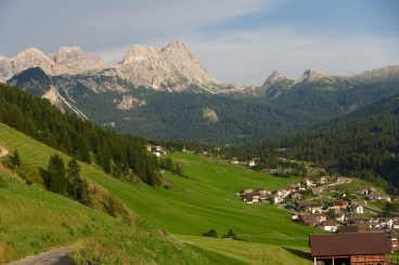 San Cassiano valley