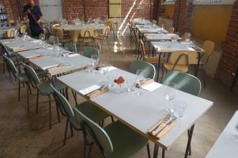 Un Posto Milano tables dining room