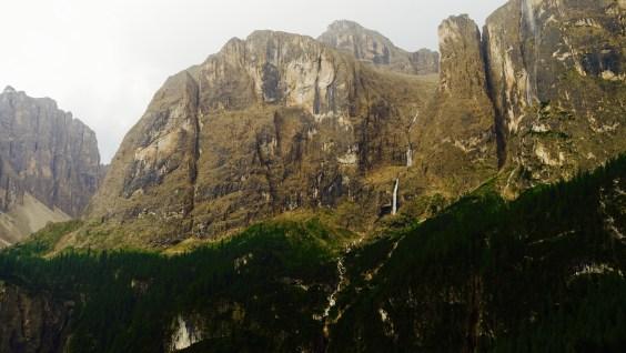 Val Gardena waterfall