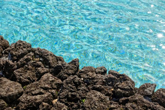 Travaasa Hana pool and lava