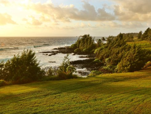 Travaasa Hana bungalow surf view