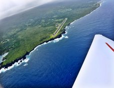 Hana airport approach