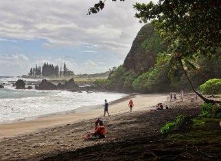 Hamoa Beach mist