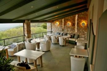 A Piattatella restaurant dining room