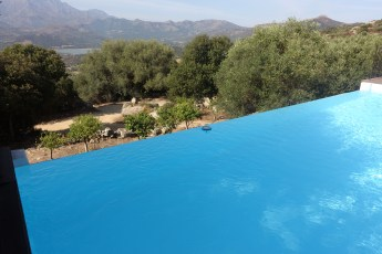 A Piattatella infinity pool