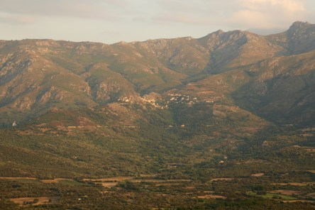 A Piattatella view mountain village