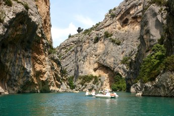 Gorge du Verdon paddleboats