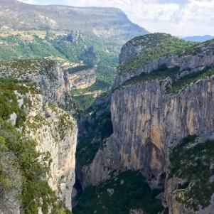 Gorge du Verdon valley