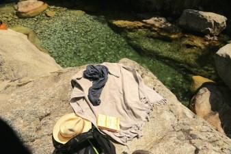 Gorge de Restonica picnic place