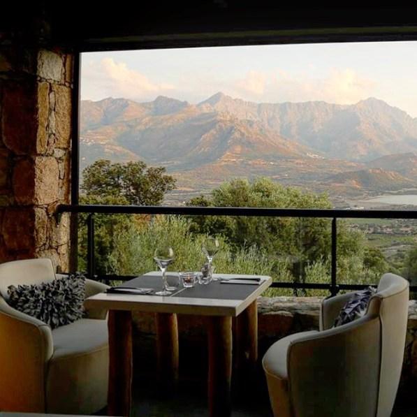 A Piattatella dining room view