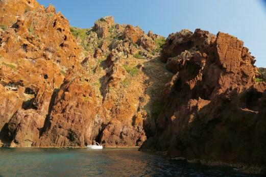 Scandola Nature Reserve charter boat