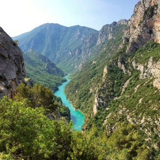 Gorge du Verdon overlook