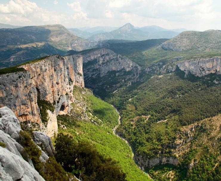 Gorge du Verdon Route du Cretes