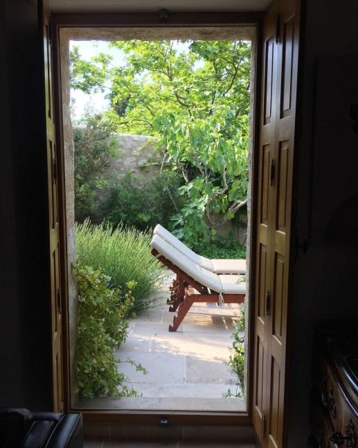 Bastide de Moustiers master suite window