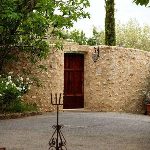 Bastide de Moustiers master suite entrance