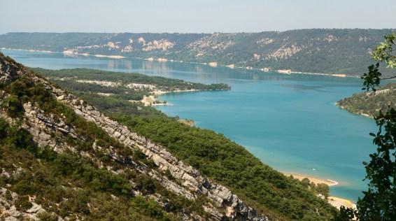 Lac de Sainte Croix view