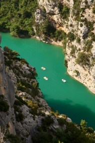 Gorge du Verdon boaters