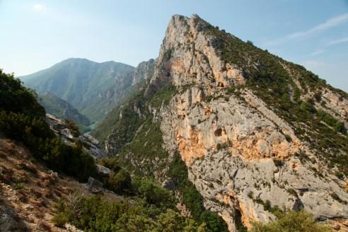 Gorge du Verdon peak