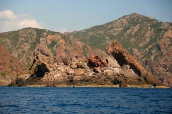 Scandola Nature Reserve pig rock