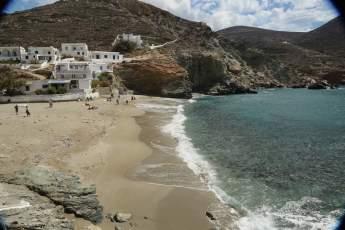 Folegandros Agkali Beach cove