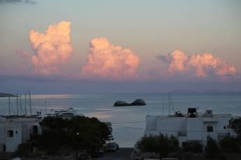 Karavostasi Folegandros clouds