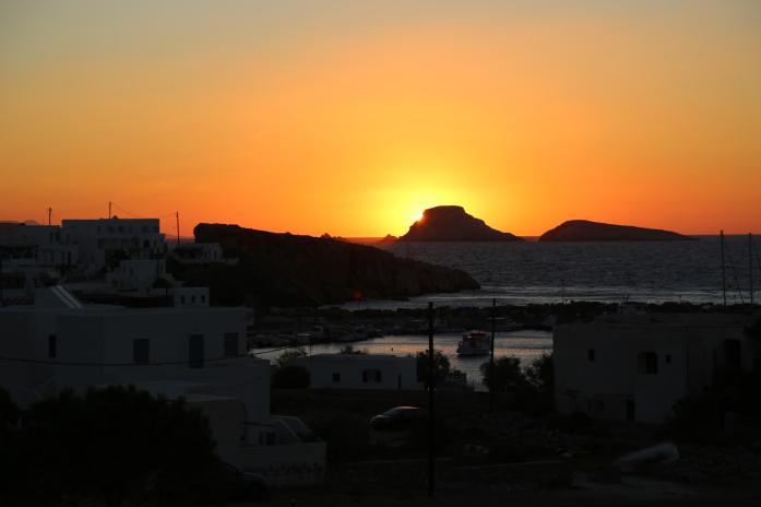 Anemi Hotel sunrise