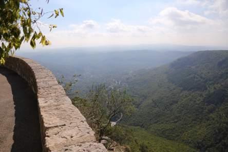 Gourdon village view