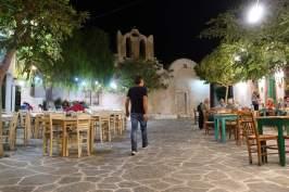 Chora Folegandros streets at night