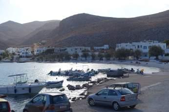 Folegandros port