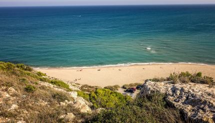 Le Cap Luecate beach