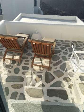 Anemomilos Apartments terrace tile