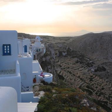 Anemomilos Apartments view sunset