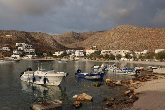 Karavostasi Folegandros boats