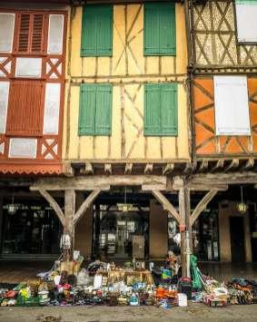 Mirepoix Languedoc Market Day