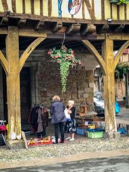 Mirepoix Languedoc shopkeepers