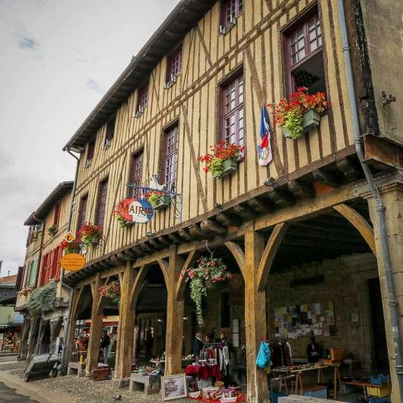 Mirepoix Languedoc streets