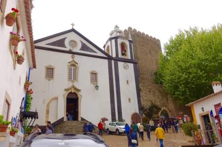 Obidos church