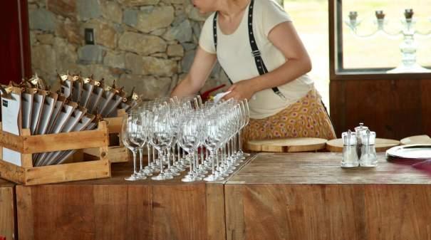 Areias do Seixo wine glasses
