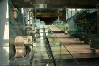 Areias do Seixo glass stairway