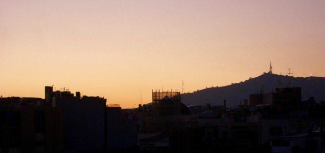El Palauet Living roof view