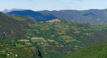 Catalan hilltop town