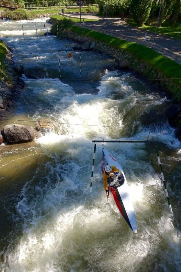 La Seu d'Urgell olympic kayak course