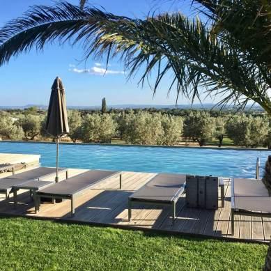 Hotel Mas Lazuli pool chairs