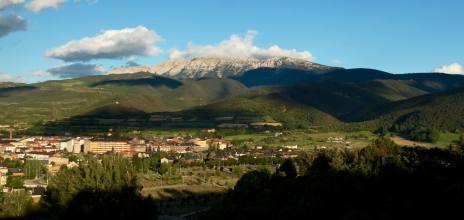 La Seu d'Urgell at sunset